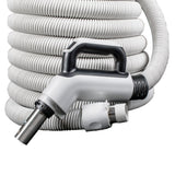 "24V Deluxe Low Voltage Central Hose 1 3/8"" X 30' - MLvac.com"
