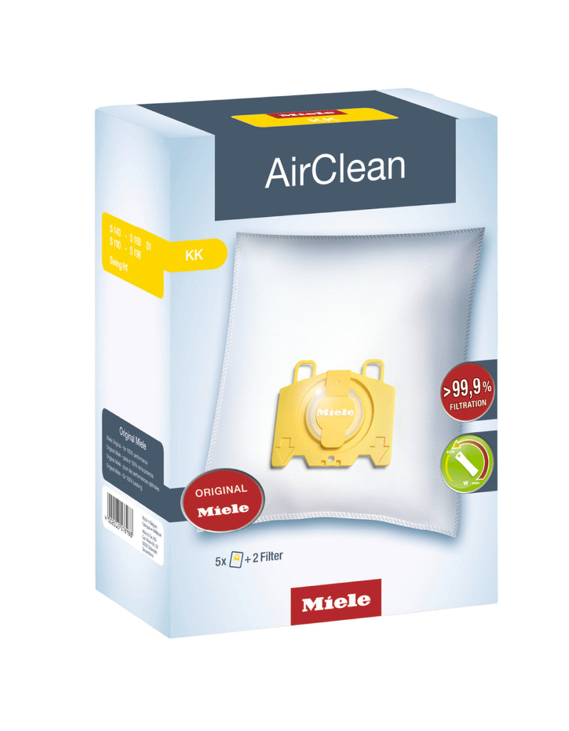 Miele Original AirClean KK dustbags - MLvac.com