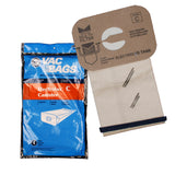 Electrolux Paper Bags, Style C, 4 Pack - MLvac.com