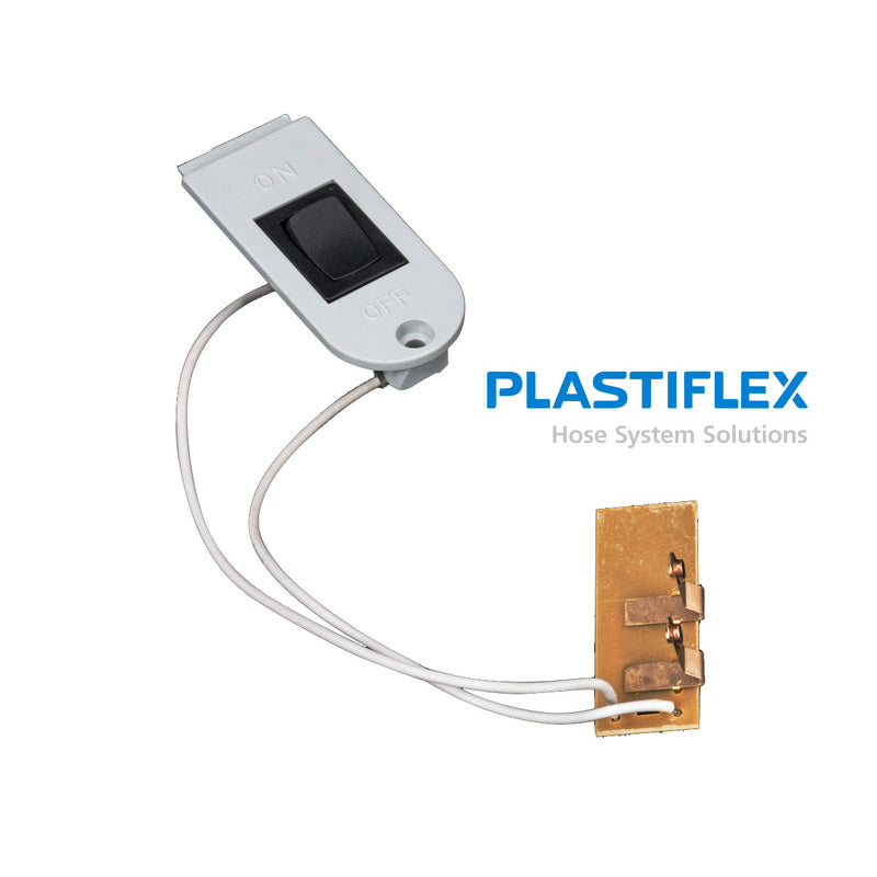 Switch for Handle of Plastiflex Low Voltage Central Hose, Pistol Grip - MLvac.com