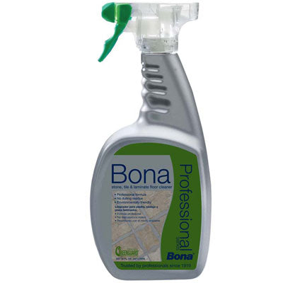 Bona Pro Series Stone, Tile, & Laminate Floor Cleaner Spray, 32oz - MLvac.com