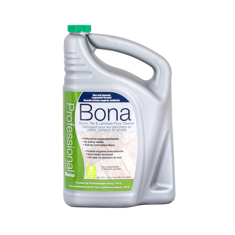 Bona Pro Series Stone, Tile, & Laminate Floor Cleaner, 1 Gallon Refill - MLvac.com