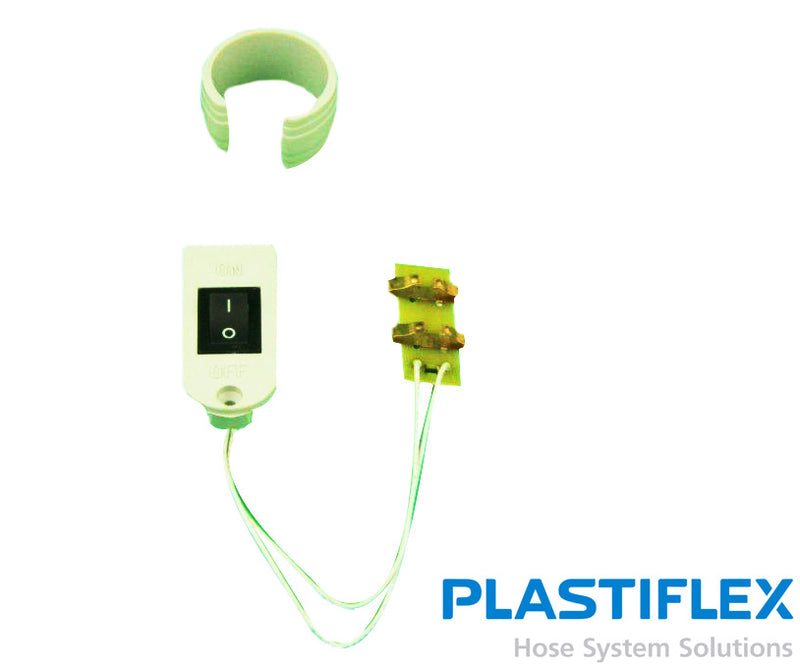 Switch For Plastiflex Handle Low Voltage Central Hose - MLvac.com