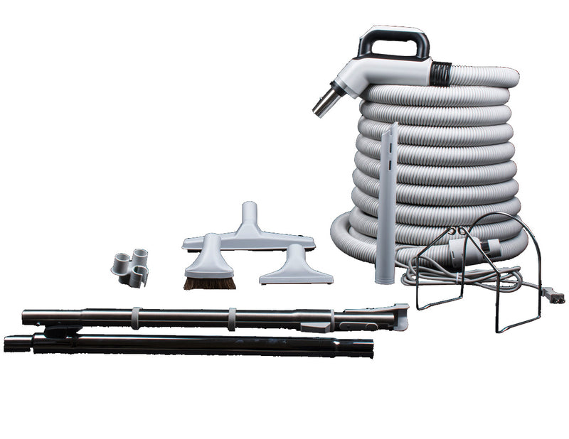 Accessory Kit with Deluxe Combo Dual Voltage Hose [without Power Nozzle] - MLvac.com