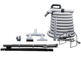 30' Accessory Kit with Deluxe Combo Dual Voltage Hose - MLvac.com