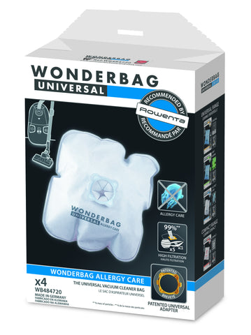 Rowenta WonderBag Fits 5 & 3.5 liters Canisters Units