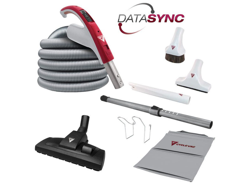 Cyclovac Attachment kit 24V with Europa brush floor and carpet combination