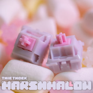 Thic Thock Marshmallow Linear Switch | Pre-Order