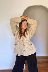 HEMP PARKA NATURAL