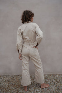 DENIM COVERALLS NATURAL