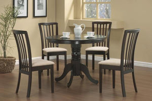 101081-S5 5PC SET (TBL+4CHAIR)