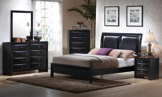 200701KE-S4 E KING 4PC SET (KE.BED,NS,DR,MR)