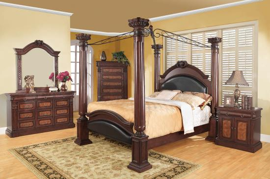 202201KW-S5 CA KING 5PC SET (KW.BED,NS,DR,MR,CH)