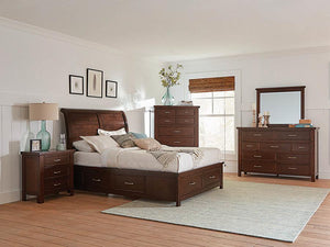 206430KW-S5 5PC CA KING BED SET