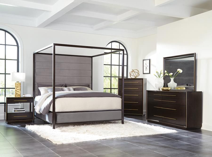 215710Q-S5 5PC QUEEN BED SET