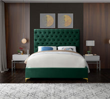 Load image into Gallery viewer, Cruz Velvet Bed/King
