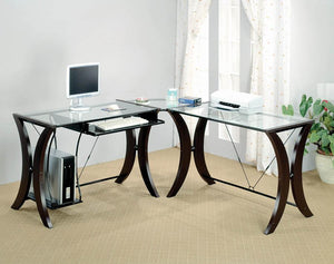 800446 3PC COMPUTER DESK SET