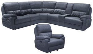 608990 6PCS MOTION SECTIONAL
