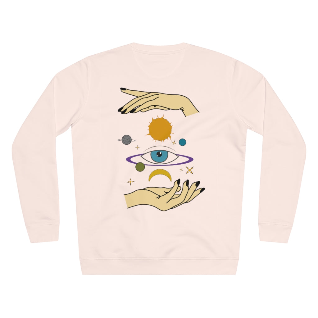 EYE SPACE SWEATER // MULTI COLOR