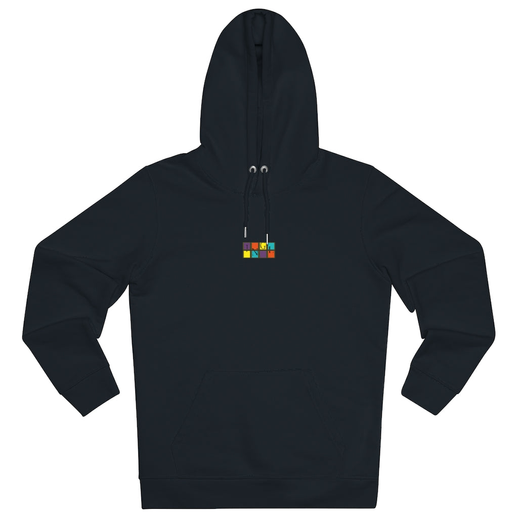 JNGL Clothing - The Vintage Hoodie // Black - Front (stock)