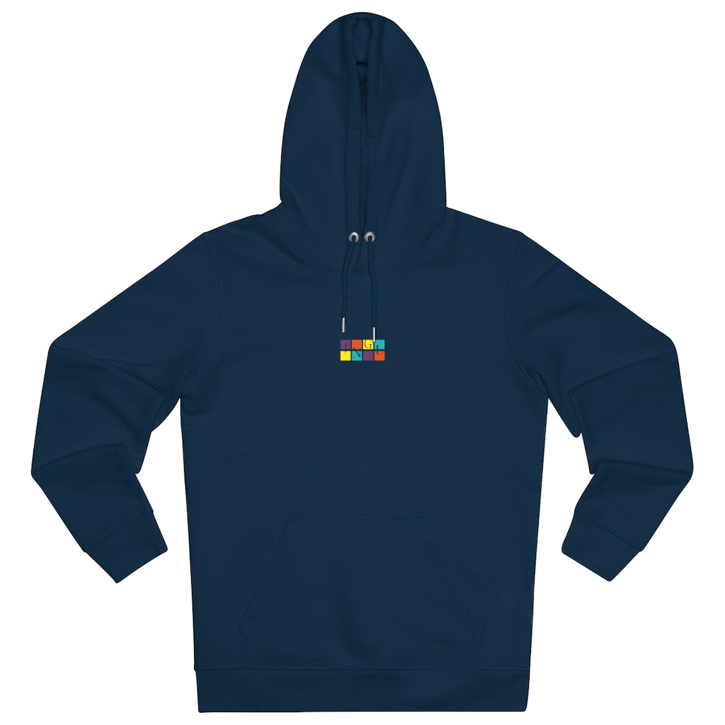 JNGL Clothing - The Vintage Hoodie // French Navy - Front (stock)