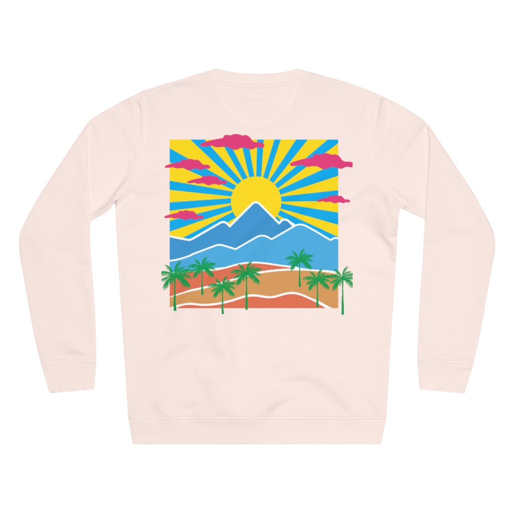 JNGL Clothing - Safari Sunset Sweater // Candy Pink - Back (Stock)