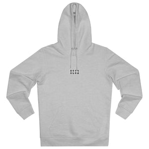 JNGL Clothing - The Vintage Hoodie // Grey & Fossil // Heather Grey - Front (stock)