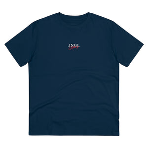 JNGL Clothing - Safari Sunset T-Shirt // French Navy - Front (Stock)