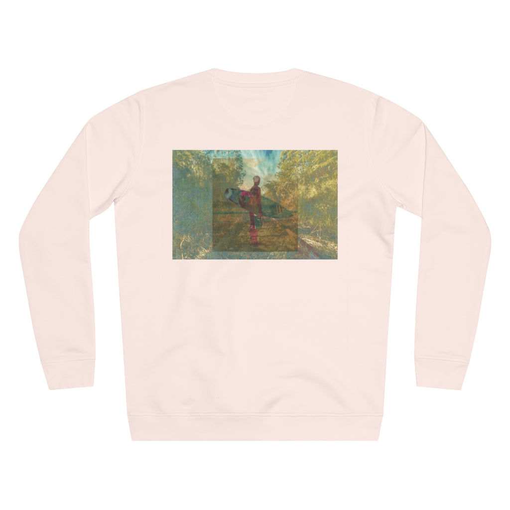 JNGL Clothing - The Playground Sweater // Candy Pink - Back (Stock)