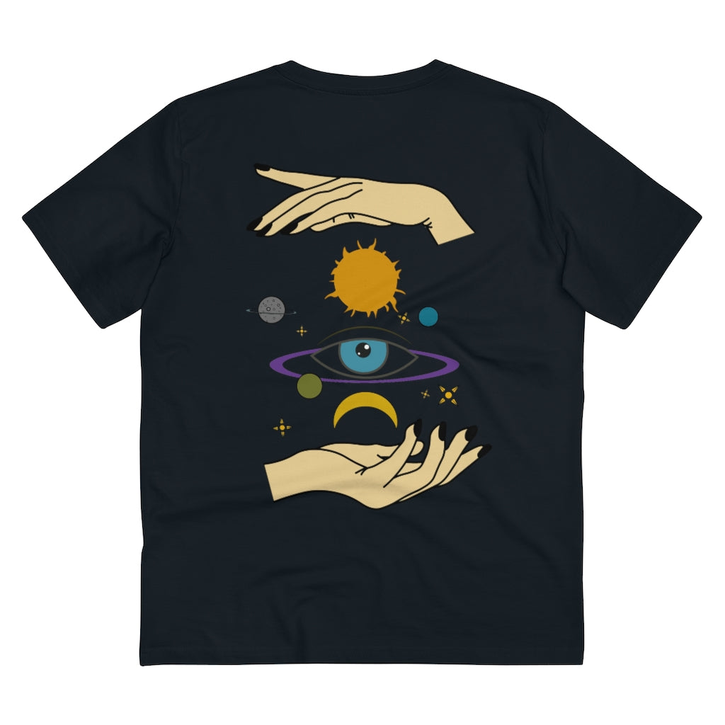 JNGL Clothing - Eye Space T-Shirt // Black - Back