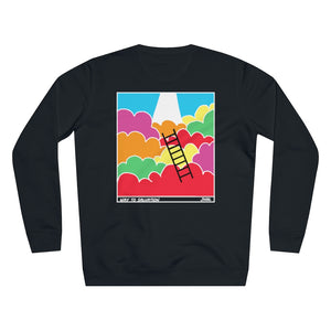 JNGL Clothing - Way To Salvation Sweater // Black - Back (Stock)