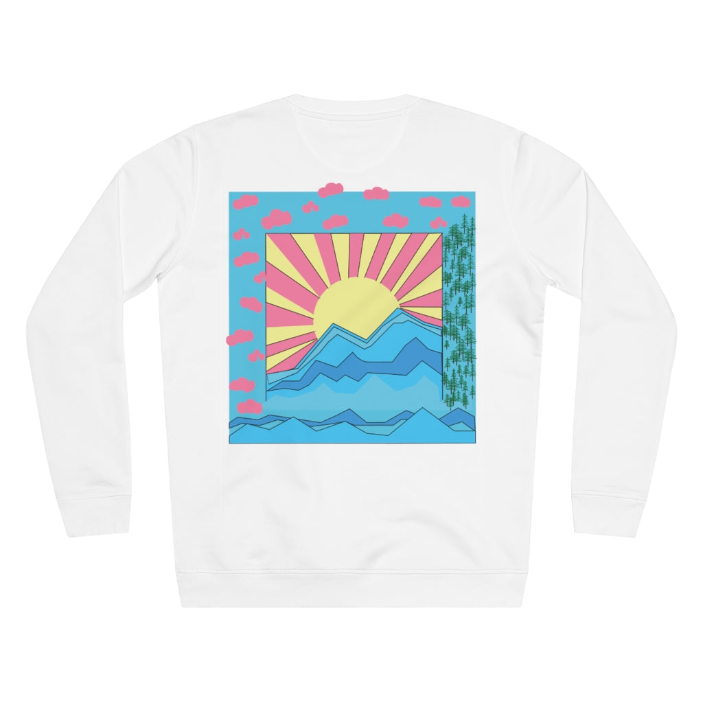 COLORFUL SUNRISE SWEATER // MULTI COLOR
