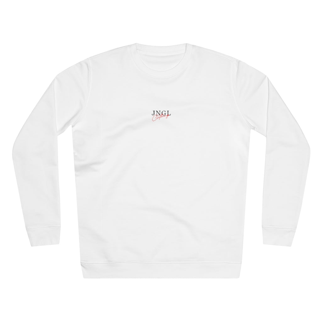 JNGL Clothing - The Playground Sweater // White - Front (Stock)