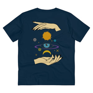 EYE SPACE T-SHIRT // FRENCH NAVY