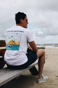 JNGL Clothing - Explore the Unexplored T-shirt on model back