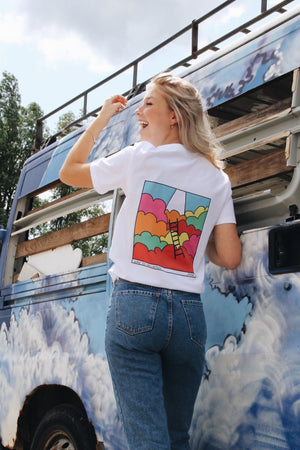 WAY TO SALVATION T-SHIRT // MULTI COLOR