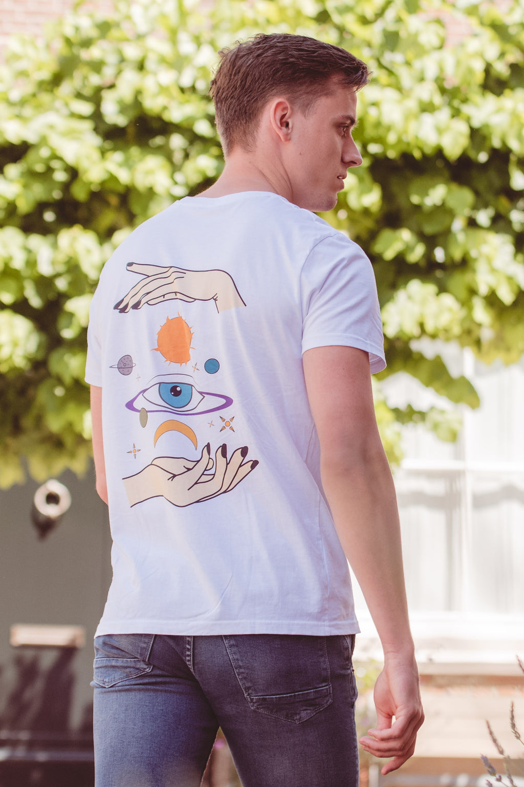 EYE SPACE T-SHIRT // MULTI COLOR