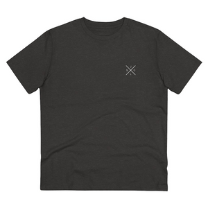 JNGL Clothing - AstroEarth T-Shirt // Dark Heather Grey - Front