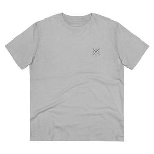JNGL Clothing - AstroEarth T-Shirt // Heather Grey - Front