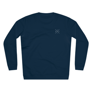 JNGL Clothing - The Classic V1 Sweater // French Navy - Front (Stock)