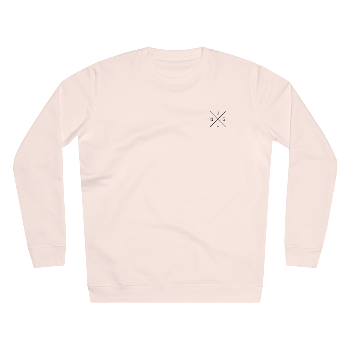 JNGL Clothing - The Classic V1 Sweater // Candy Pink - Front (Stock)