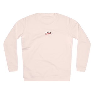 JNGL Clothing - Sun Moon Art Sweater // Candy Pink - Front (Stock)