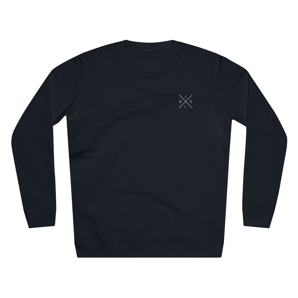 JNGL Clothing - The Classic V1 Sweater // Black - Front (Stock)
