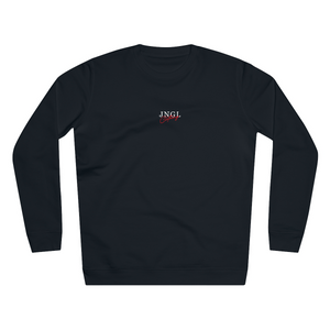 JNGL Clothing - Way To Salvation Sweater // Black - Front (Stock)