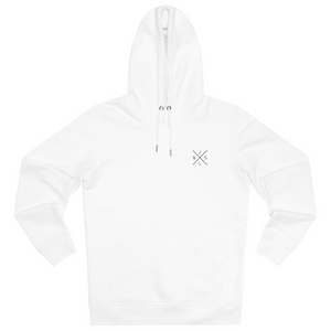 JNGL Clothing - The Classic V1 hoodie // White - Front (stock)