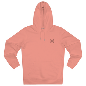 JNGL Clothing - The Classic V1 hoodie // Sunset Orange - Front (stock)