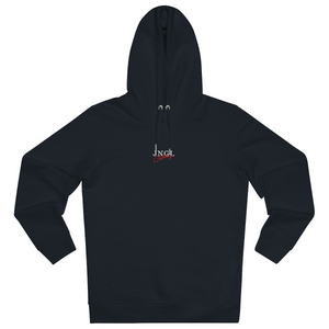 JNGL Clothing - Eye Space hoodie // Black - Front (stock)