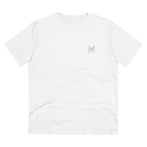 JNGL Clothing - AstroEarth T-Shirt // White - Front