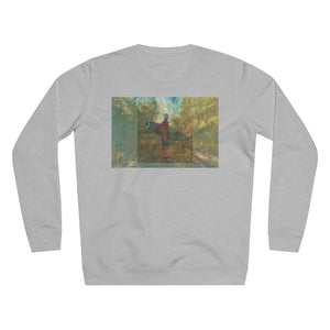 JNGL Clothing - The Playground Sweater // Heather Grey - Back (Stock)