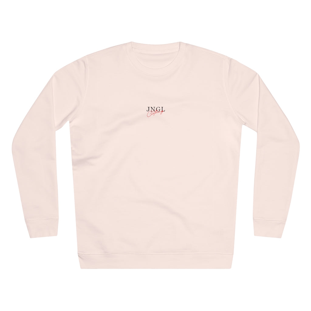 JNGL Clothing - The Playground Sweater // Candy Pink - Front (Stock)